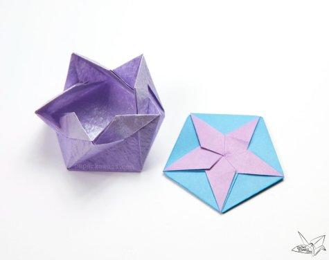Origami White Star Tato Tutorial – Philip Chapman-Bell