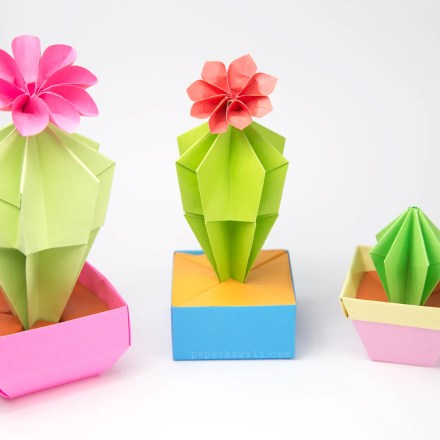 Origami Pencil Pot Tutorial - Marc Vigo via @paper_kawaii