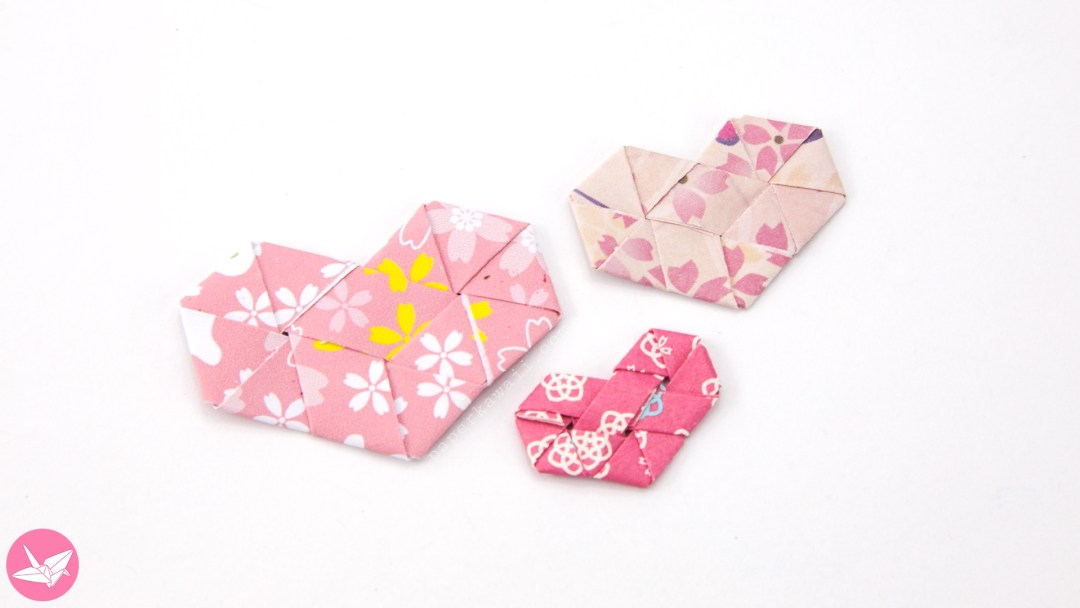 Origami Woven Paper Hearts Tutorial via @paper_kawaii