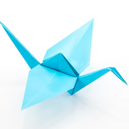 Origami Crane and Variations via @paper_kawaii