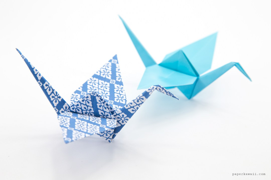 Origami Crane Tutorial - Traditional Origami Tsuru - Paper ... - photo#22