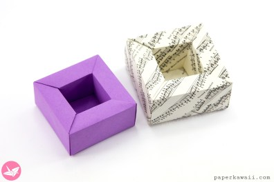 Origami Planter Pot Box Tutorial