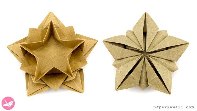 Origami Star Bowl Tutorial (Masoud Hosseini)