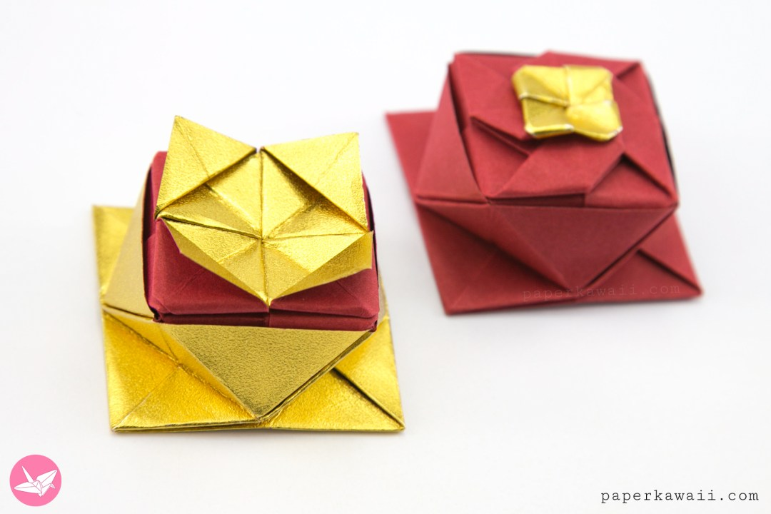 Self-Closing Origami Twist Box – Origami Tutorials | 720x1080