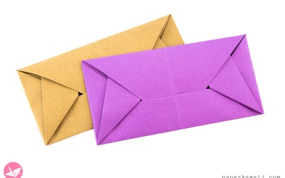 Easy Origami Envelope Letterfold By Simon Andersen