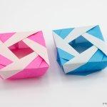 Origami Lady Box Tutorial (José Meeusen)