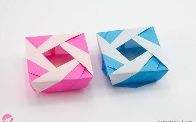 Origami Lady Box Tutorial (Jośe Meeusen)