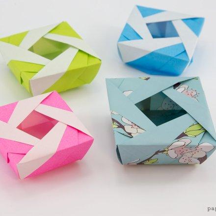 Origami Lady Box Tutorial - José Meeusen via @paper_kawaii