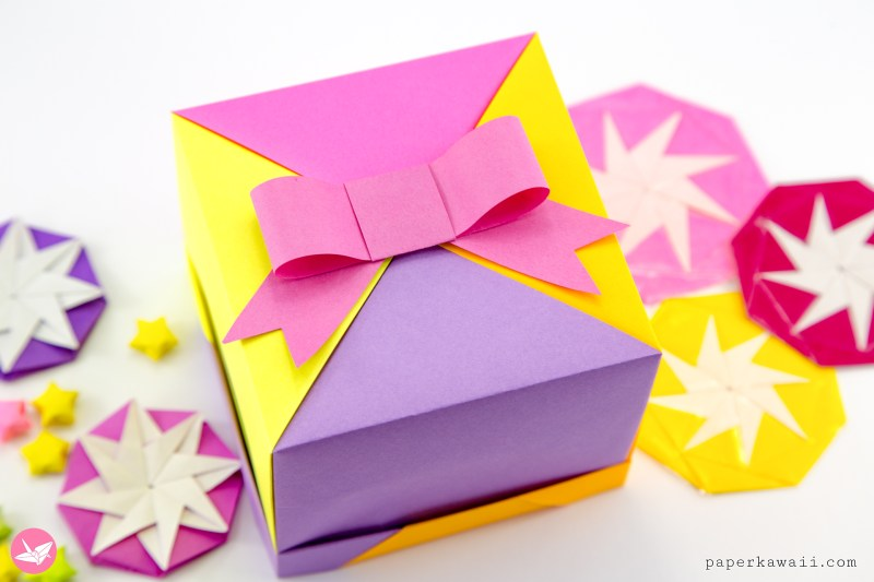 Easy Paper Bow Tutorial via @paper_kawaii