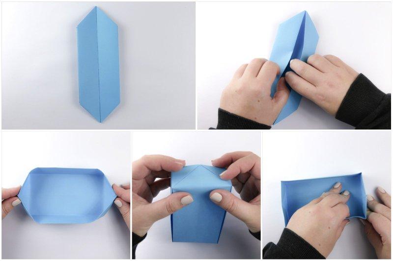 Deep Rectangular Box via @paper_kawaii