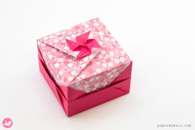 LEARNIGAMI - Modular Origami Boxes - Ebook & Tutorials via @paper_kawaii