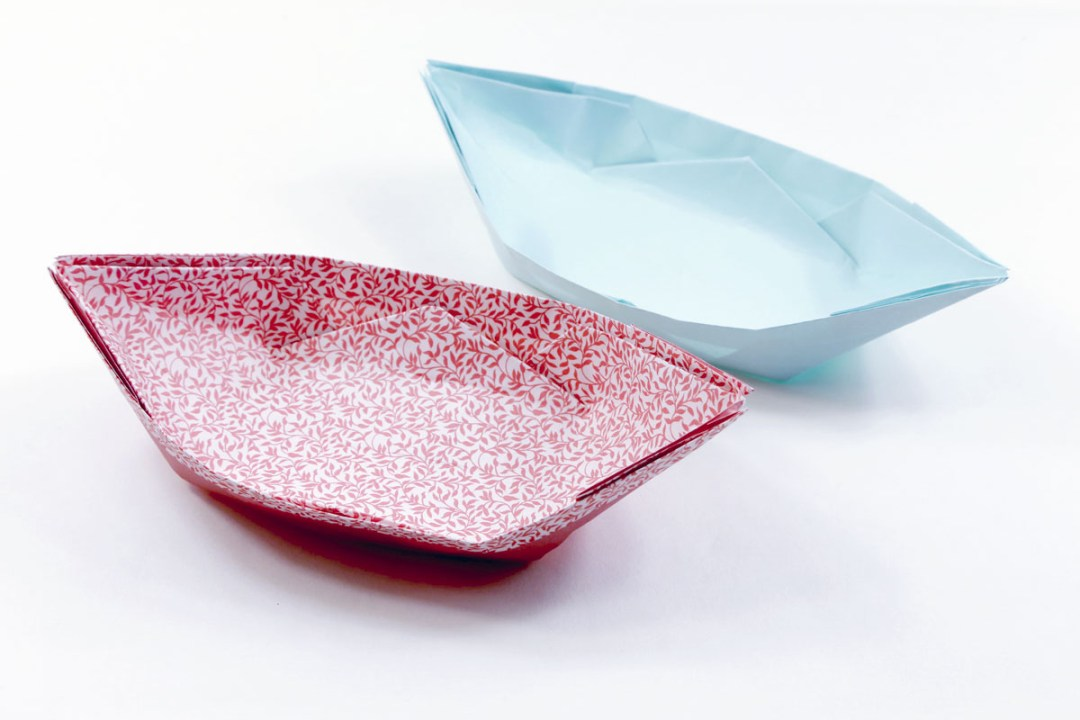 Boat Dish via @paper_kawaii