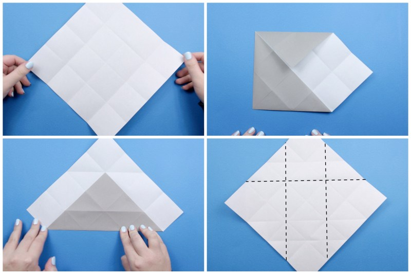 Origami Elephant. (Instructions) (Full HD) - YouTube | 533x800