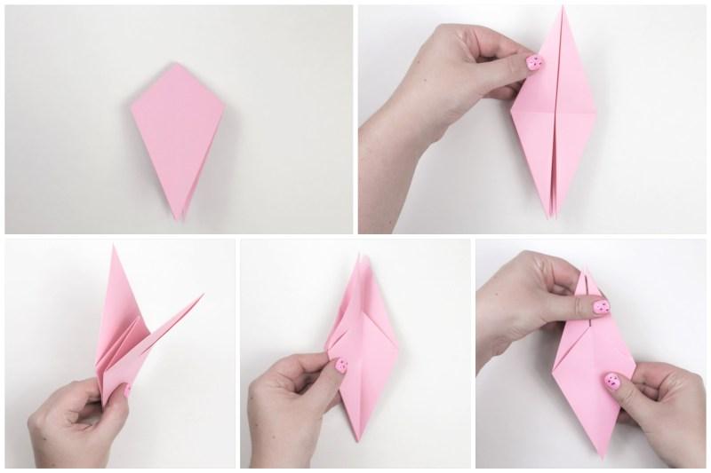 Flapping Bird via @paper_kawaii