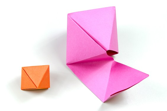 Octahedron Box / Decoration