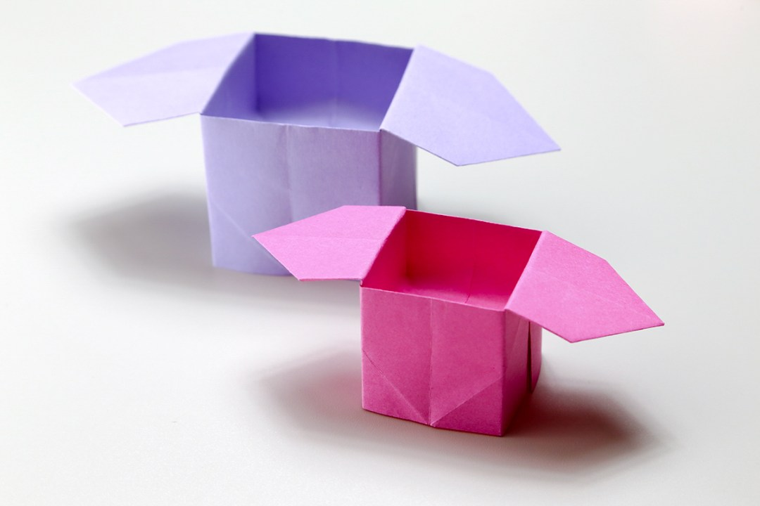Sanbo Box via @paper_kawaii