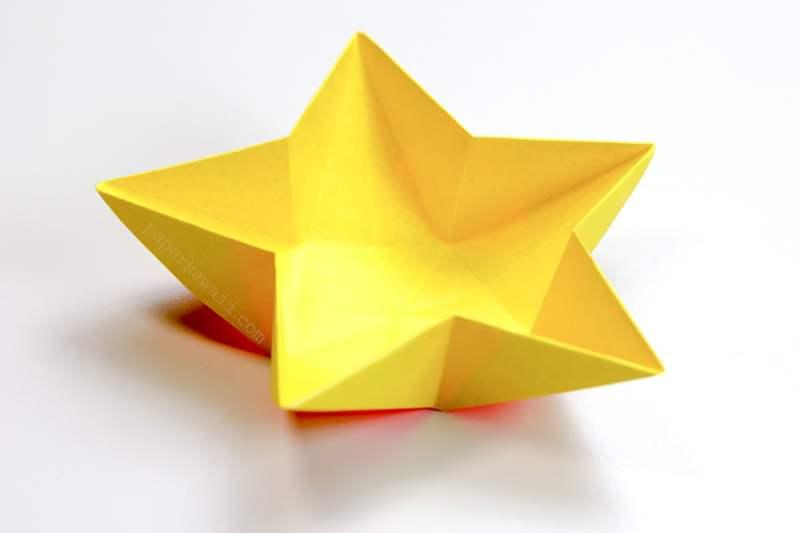 Star Bowl via @paper_kawaii