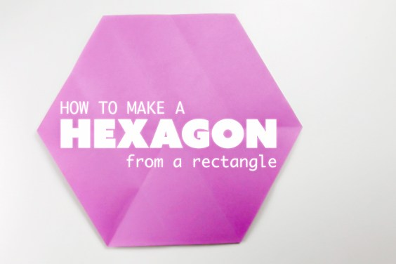 Hexagon From A Square