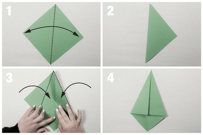 krokotak | Fold a fir tree | 534x800