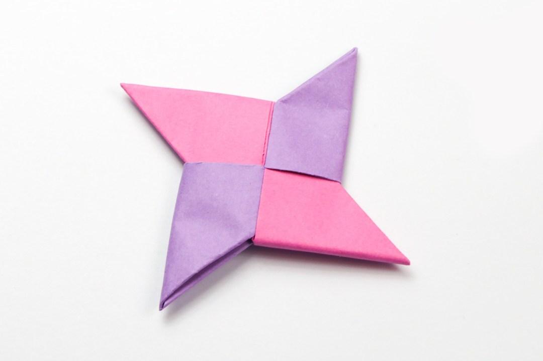 Ninja Star via @paper_kawaii