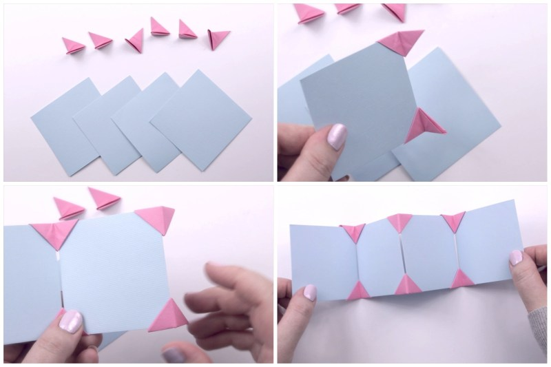 Photo Frame Corners via @paper_kawaii