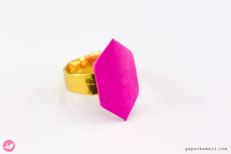 Origami Ring For Valentine's Day via @paper_kawaii