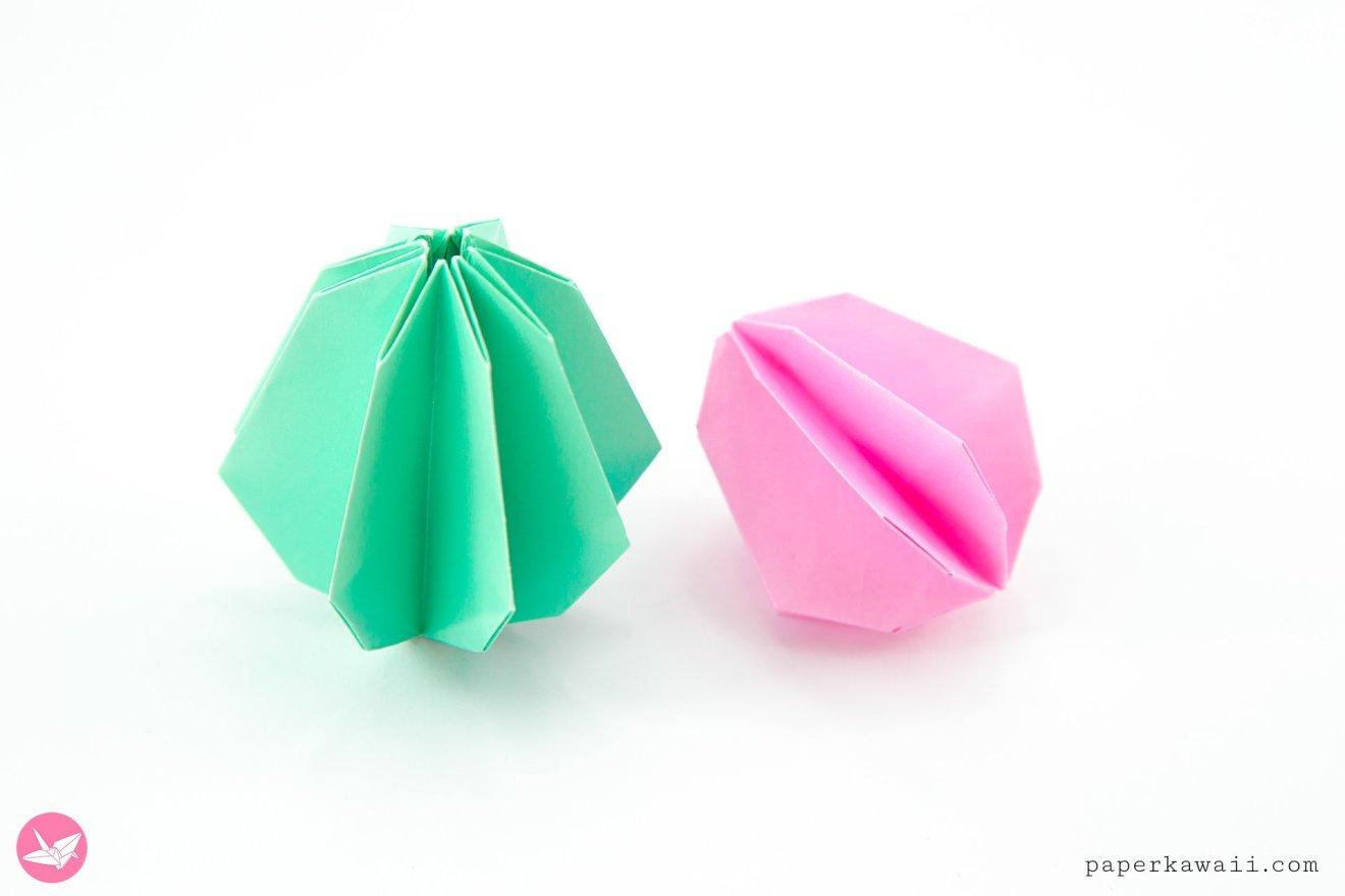 Origami Egg Tutorial for Easter via @paper_kawaii