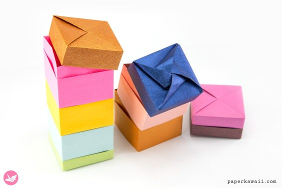 Learn How to Make a Useful Rectangular Origami Gift Box ... | 376x564