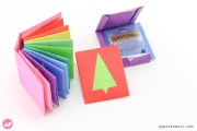 Origami Christmas Tree Envelope Tutorial – & Gift Book