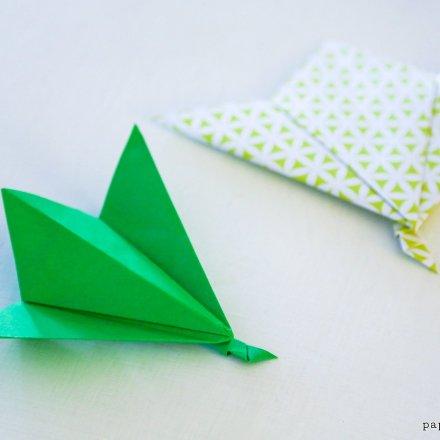 Origami Leaf Tutorial - Easy via @paper_kawaii