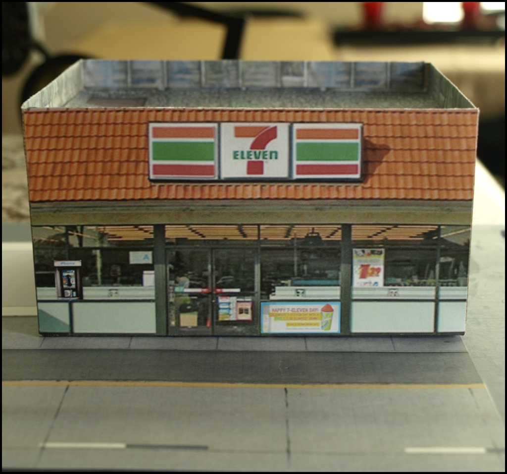 Ho scale buildings printable - Printable ho scale building interiors ...
