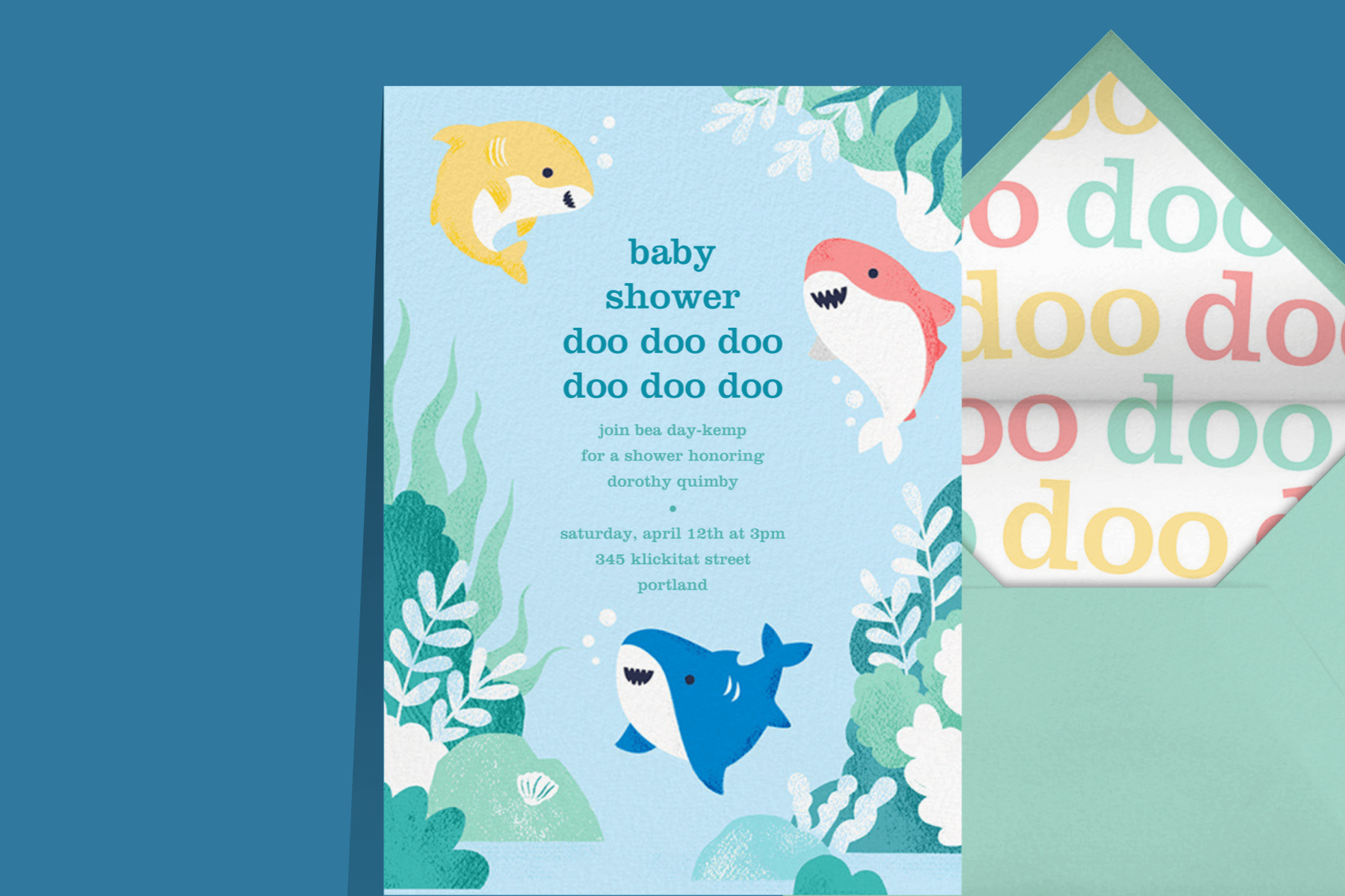 baby shark birthday party ideas for