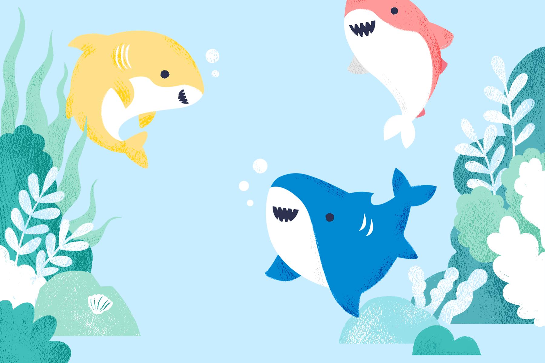 baby shark birthday party ideas for