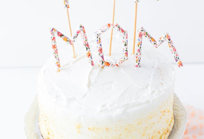 Make This Diy Message Cake Toppers For Every Occasion With Paper