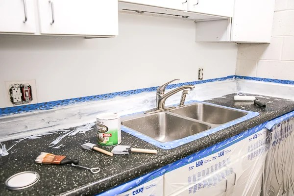 counter culture how to resurface laminate countertops for under 50 paper and stitch