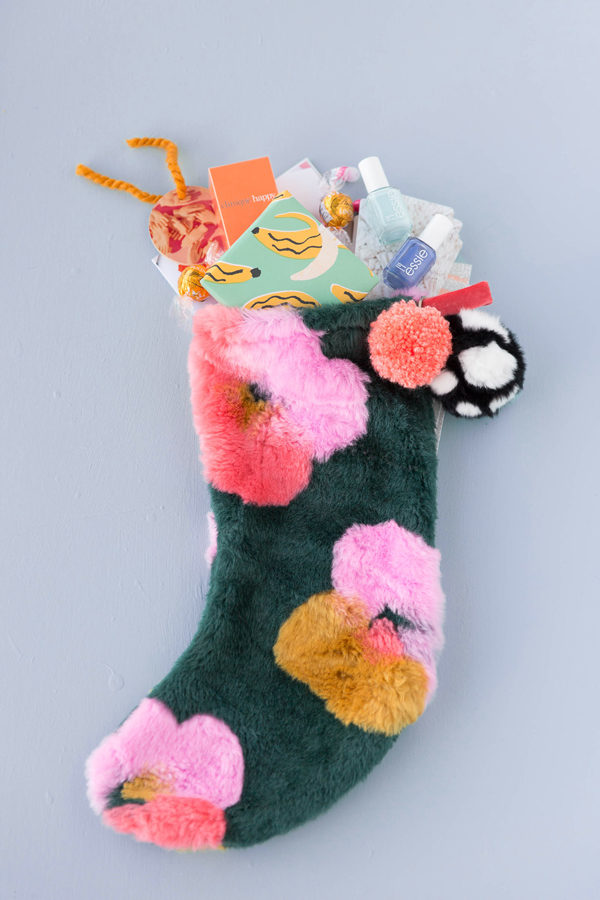 Pop Goes The Holidays A Pop Art Inspired DIY Stocking