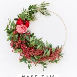 How To Make Asymmetrical Holiday Wreaths