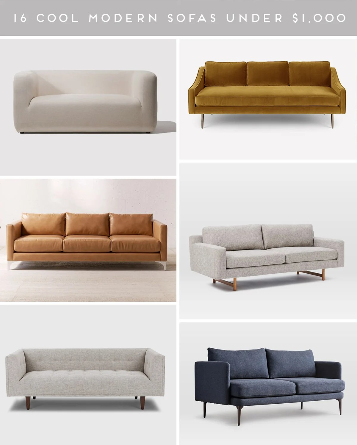 couch potato 16 stylish modern sofas