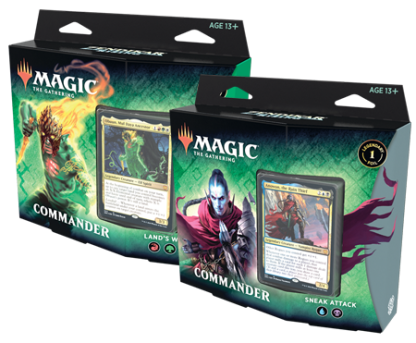 Zendikar Rising Commander Set