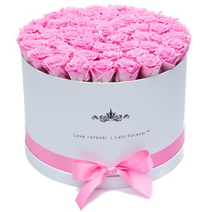 Round Flower Box Paper Packaging From China