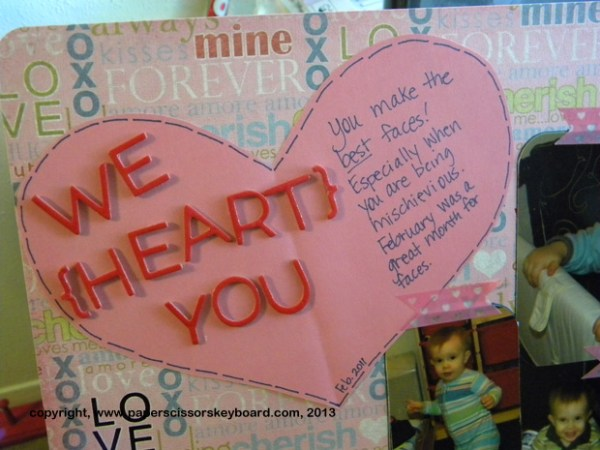 We Heart You Journal