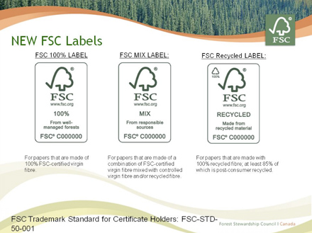 This system has enabled manufacturers to maintain an efficient. Understanding The New Fsc Labels Paperspecs