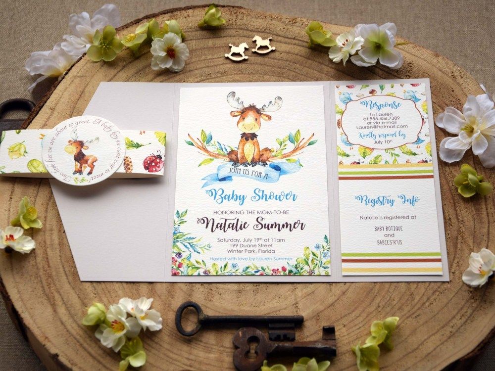 Baby Shower Invitation Cards