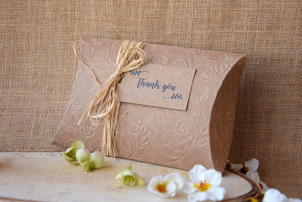 Rustic Wedding Favor Boxes