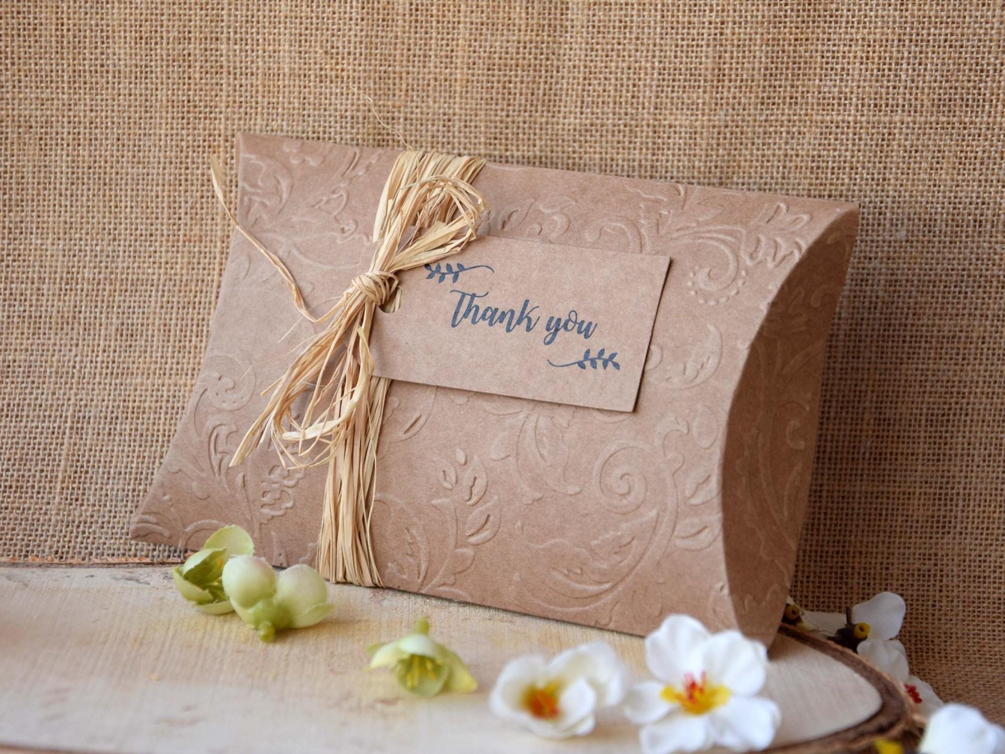 Rustic Wedding Favor Boxes