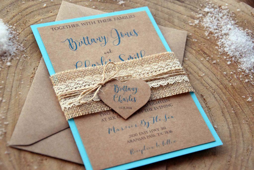 Wedding Invitations Turquoise: Turquoise Wedding Invitations, Personalized Wedding