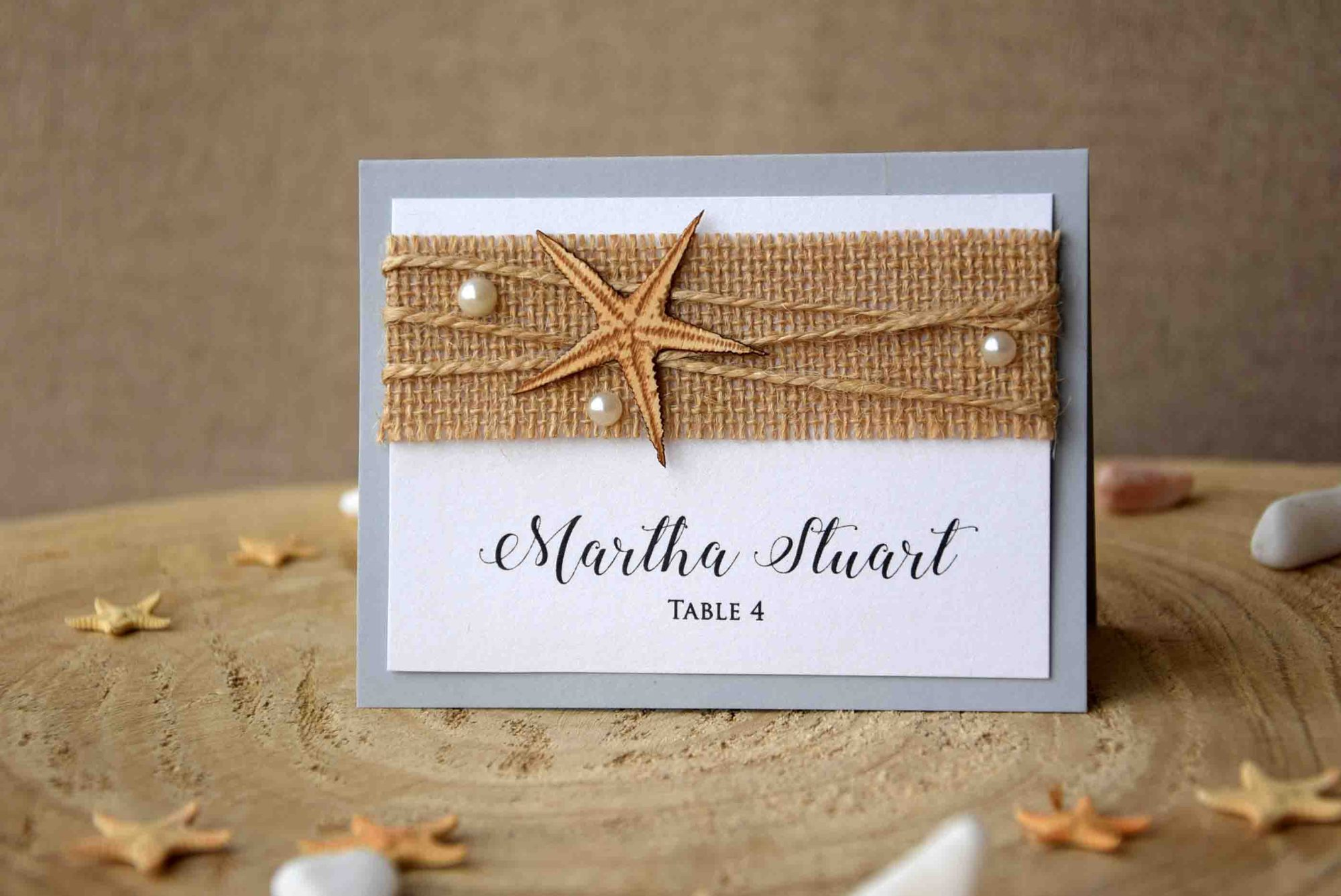 Starfish Place Cards