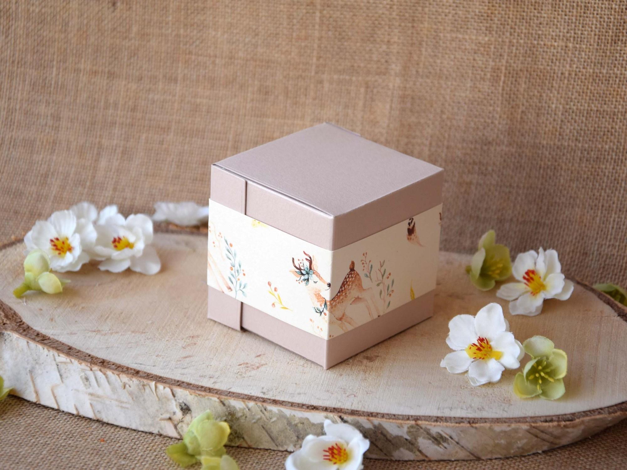 Custom Baby Girl Baby Shower Favor Boxes