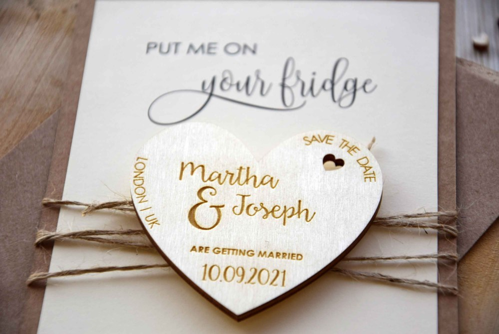 Custom Save the Date Magnets