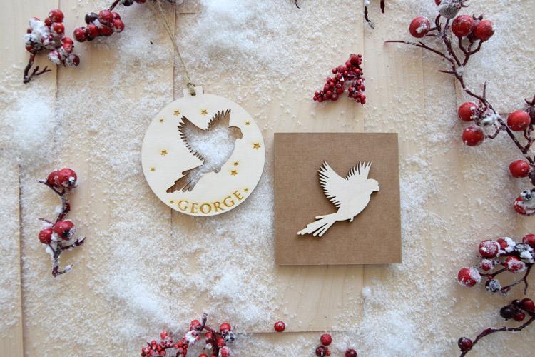 Bird Christmas Tree Decoration